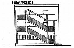 鷹匠町アパート[2-1010号室]の外観