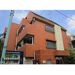 東京都目黒区三田2丁目の賃貸マンションの外観