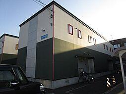 北海道札幌市北区拓北四条1丁目の賃貸アパートの外観