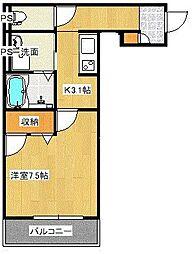 宮原3丁目シャーメゾンB[305号室]の間取り