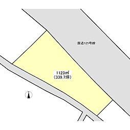 JR常磐線 土浦駅 バス9分 中並木下車 徒歩12分の賃貸土地