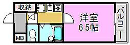 山本グリーンビレッジI[2階]の間取り