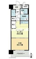 ライオンズマンション岡山医大南[3階]の間取り