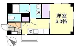 K3ビル[303号室]の間取り