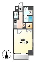 Plan Baim大須駅前[9階]の間取り