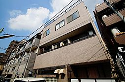 東京都大田区田園調布南の賃貸マンションの外観