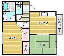 シンフォニックガーデンA棟[2階]の間取り