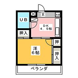 はなみずき通駅 2.6万円