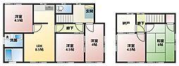 [一戸建] 神奈川県横浜市戸塚区川上町 の賃貸【/】の間取り