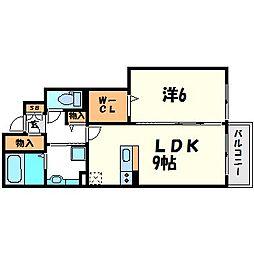 My Dear Life 七松 II[1階]の間取り