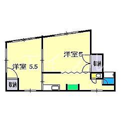 メゾン・ドやまさき[3階]の間取り