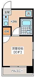 KIマンション[3階]の間取り