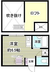 相模原市中央区東洲野辺新築アパート[104号室]の間取り