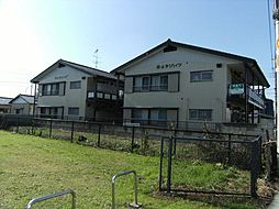 埼玉県草加市金明町の賃貸アパートの外観