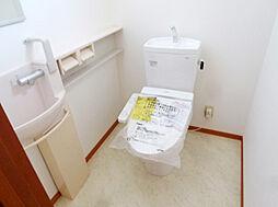 2階のトイレも...