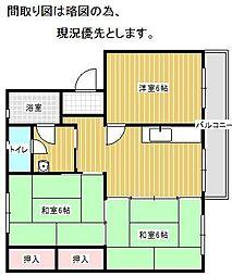 第一松尾ビル[501号室]の間取り