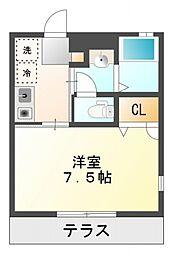 パインヒル28[1階]の間取り