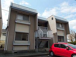 愛知県岡崎市西蔵前町2丁目の賃貸アパートの外観