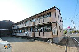 愛知県名古屋市港区春田野2丁目の賃貸アパートの外観