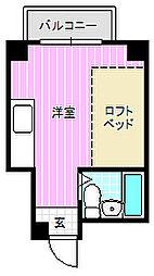 リラッサ大和田[3階]の間取り