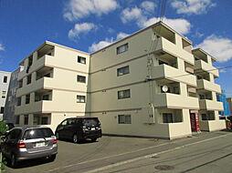 北海道札幌市東区北十九条東17丁目の賃貸マンションの外観