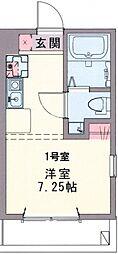 コスタ横須賀中央[305号室号室]の間取り