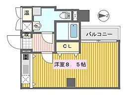 RIPPLU GROW NANBA[9階]の間取り