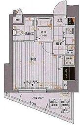 ヴァレッシア椎名町駅前シティ[4階]の間取り