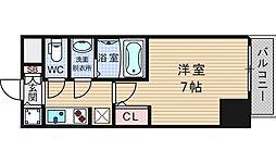 サムティ難波VIVO[6階]の間取り