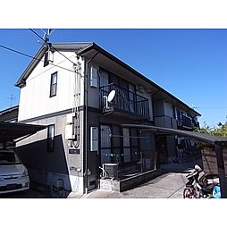 京都府木津川市山城町上狛の賃貸アパートの外観