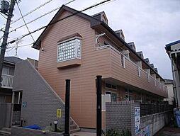 埼玉県三郷市早稲田6丁目の賃貸アパートの外観