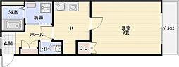 エクセル1[3階]の間取り