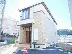 神奈川県横浜市栄区公田町の賃貸アパートの外観