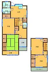 [タウンハウス] 兵庫県姫路市御立東2丁目 の賃貸【/】の間取り
