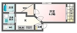 T's-Terrace Higashisumiyoshi II[3階]の間取り