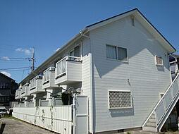 フラワーハイツ B棟[2階]の外観