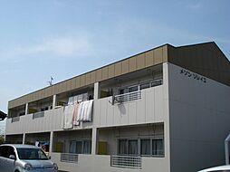 愛知県一宮市開明字郷中の賃貸アパートの外観