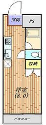 パークライフ平塚生活保護受給者支援賃貸マンション[203号室号室]の間取り