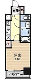 プレサンス京都烏丸爛都[703号室号室]の間取り
