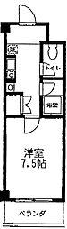 神奈川県相模原市中央区並木1丁目の賃貸マンションの間取り