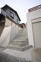 階段幅が広く昇...