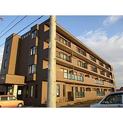 北海道苫小牧市宮前町4丁目の賃貸マンションの外観