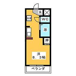 NS village[4階]の間取り
