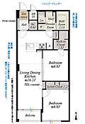 6階部分南向につき採光・通風・眺望良好フルリノベーションにより室内一新