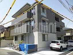大阪府茨木市東中条町の賃貸アパートの外観
