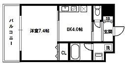 ドルチェヴィータ新大阪[4階]の間取り