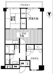 トーカド宮崎台[1階]の間取り