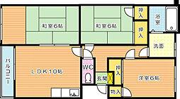 メゾン菊栄II[1階]の間取り