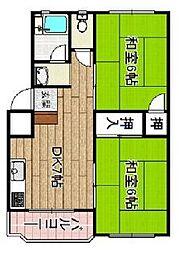 北島マンション[2階]の間取り