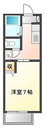 リヴェールハイム[2階]の間取り